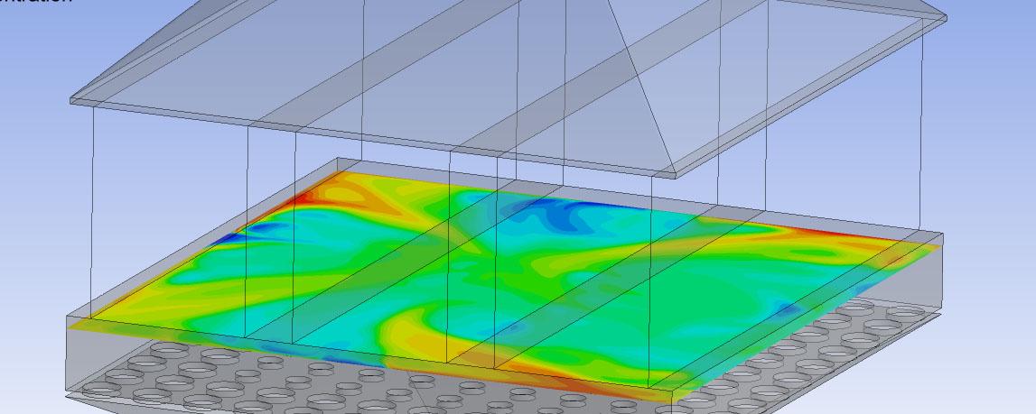 CFD Simulation der Einmischung einer zusätzlichen Gaskomponente Titelbild