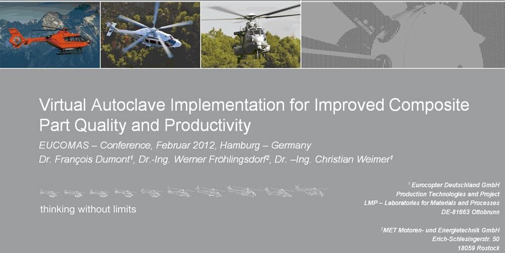 Präsentation der Ergebnisse auf der Eucomas Konferenz 2012 Titelbild