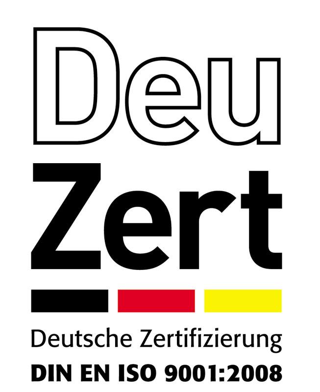 Prüfsiegel der DeuZert Deutsche Zertifizierung in Bildung und Wirtschaft GmbH