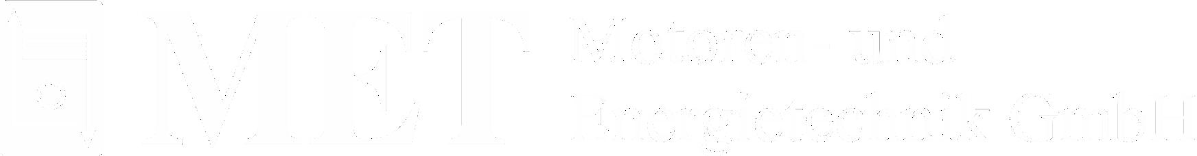 MET Logo mit Schriftzug weiss