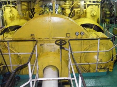 """Getriebe des Fährschiffes """"Kaunas Seaways"""""""