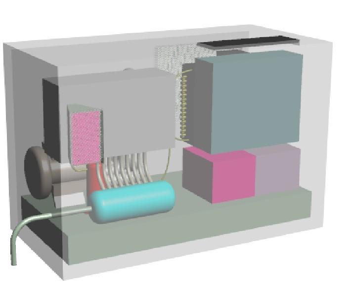 Luftentfeuchter für Hochspannungsanlage