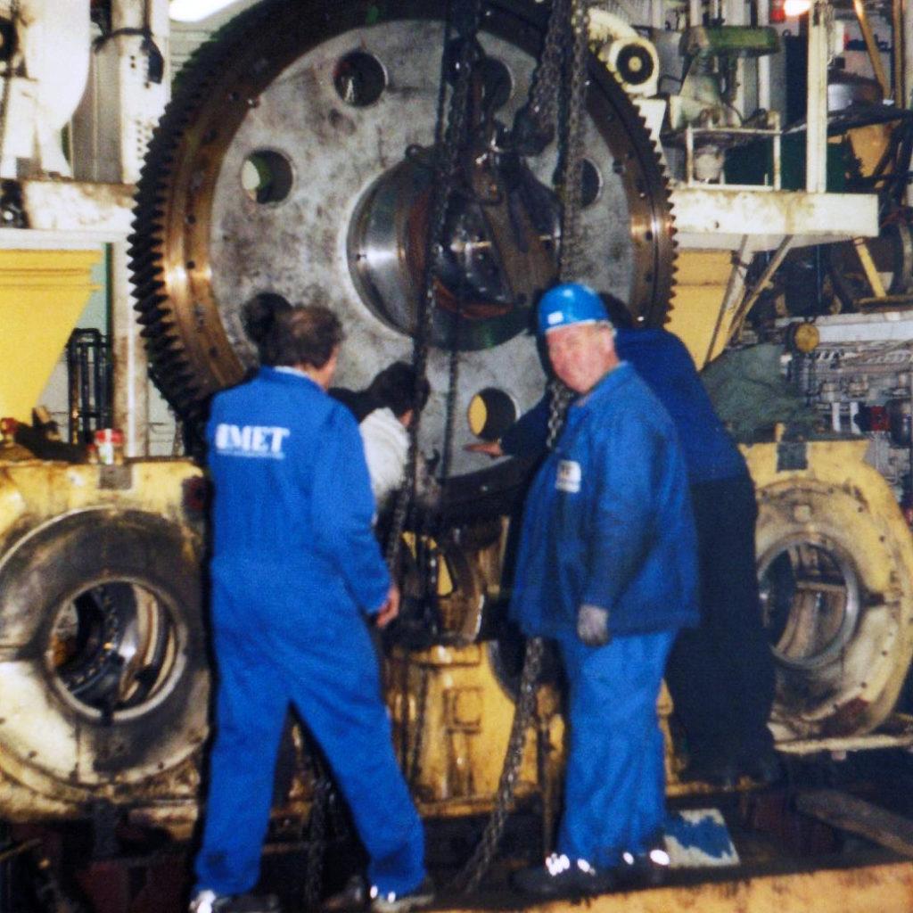 Umbau Schiffsgetriebe