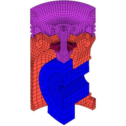 Kolbenmodell