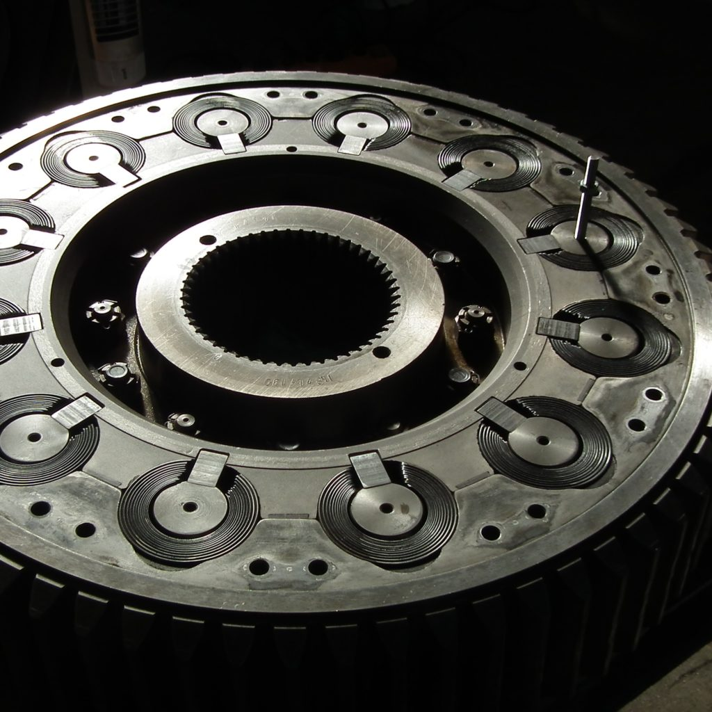 Damper wheel