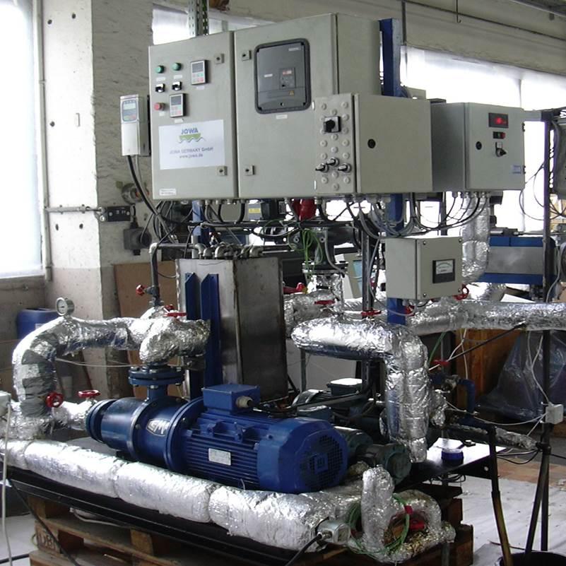 Emulsionsprüfstand für Schweröl