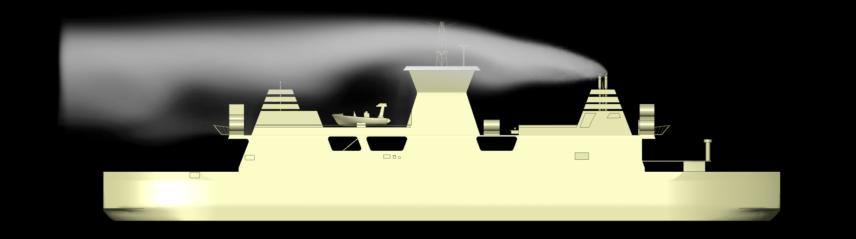 Spread of smoke