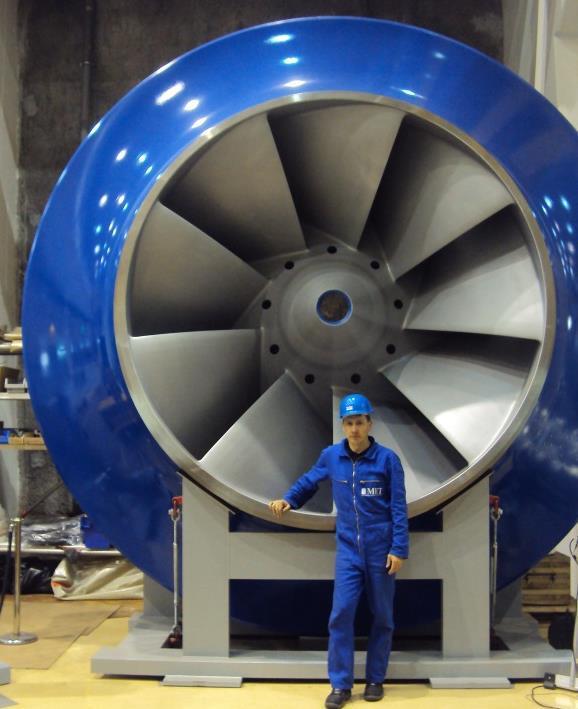 Turbine für Wasserkraft