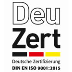 Certified according to DIN EN ISO 9001: 2015